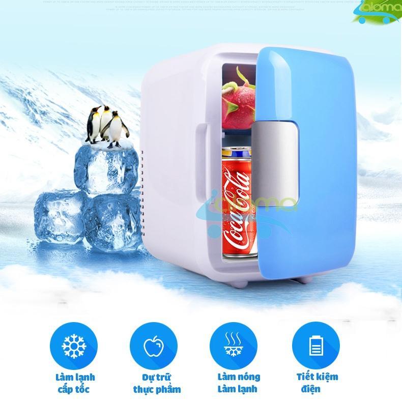Tủ Lạnh Mini 2 Chế độ Nóng Lạnh 4 Lít MarryCar MR-TL4L Siêu Ưu Đãi tại Lazada