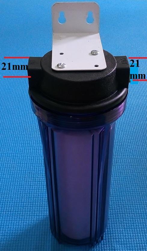 Bộ ly lọc nước vỏ trong dùng lọc thô nước sinh hoạt -  Chuyên lọc cặn bẩn, chất rắn có đường kính 5 micromet trở lên