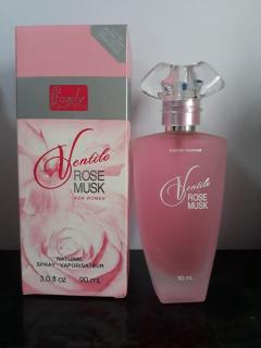 Nước hoa Ventilo Rose Musk VIỆT NAM 90ML Hồng thumbnail