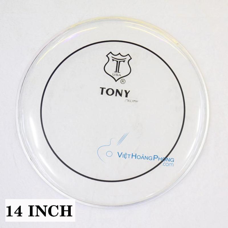 Mặt trống Jazz - Trống Da TONY thương hiệu USA  (Mặt Dầu) - Việt Hoàng Phong