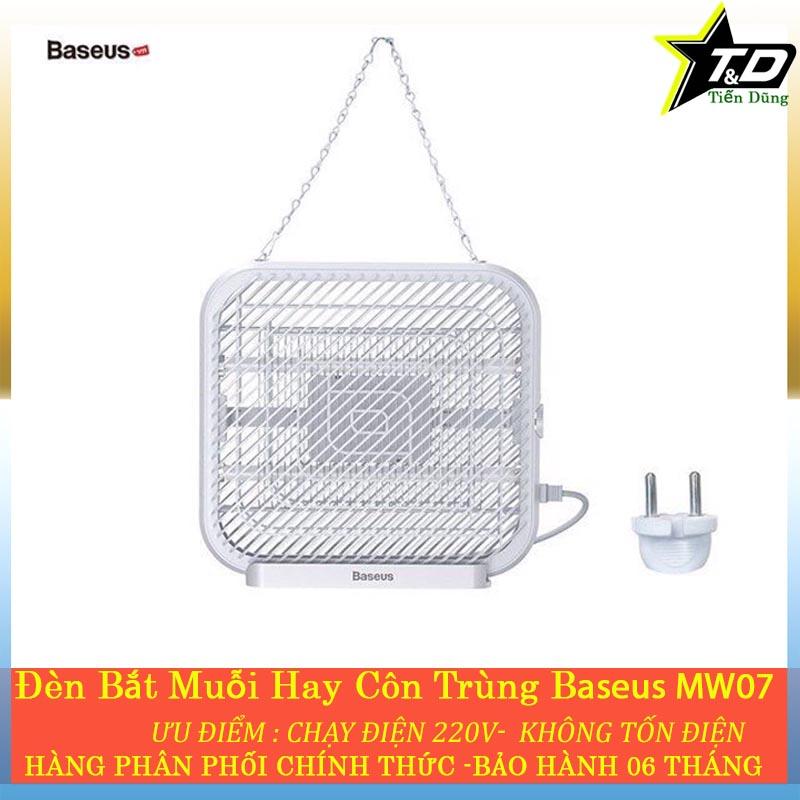 Đèn bắt muối baseus MW07  - Đèn LED Bắt Muỗi Diệt Côn Trùng Đèn Trong Nhà Tường Văn Phòng máy Tính Để Bàn