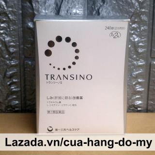 Viên uống Transino Whitening 240 viên - Giảm Nám Da Và Tàn Nhang Của Nhật thumbnail