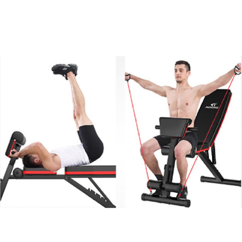 ghế tập gym đa năng - ghế gập bụng ghế tập tạ luyện các nhóm cơ chính tại nhà