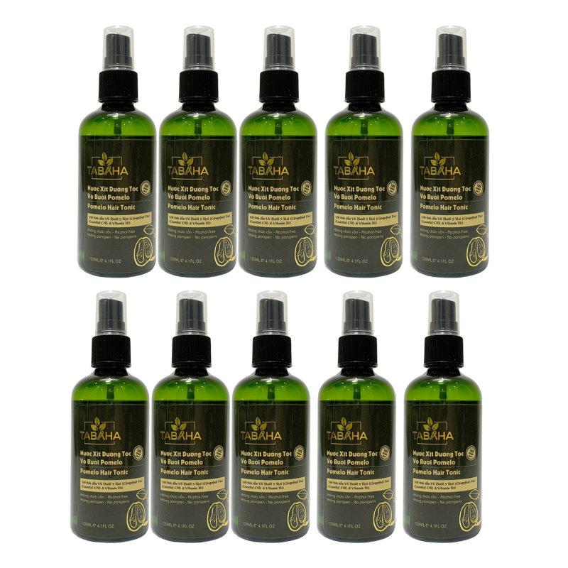 Bộ 10 chai tinh dầu bưởi Pomelo tabaha Giá sỹ giúp ngăn rụng tóc
