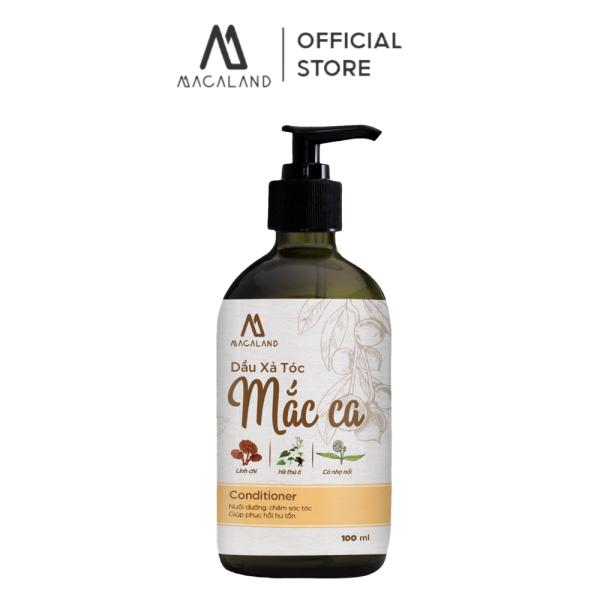 Dầu Xả tóc dầu Mắc Ca Macadamia 300ml MACALAND dưỡng tóc mềm mượt và phục hồi tóc chắc khỏe