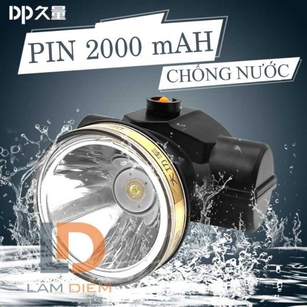 ĐÈN LED ĐEO ĐẦU PIN SẠC  mAH CHỐNG NƯỚC IPX4