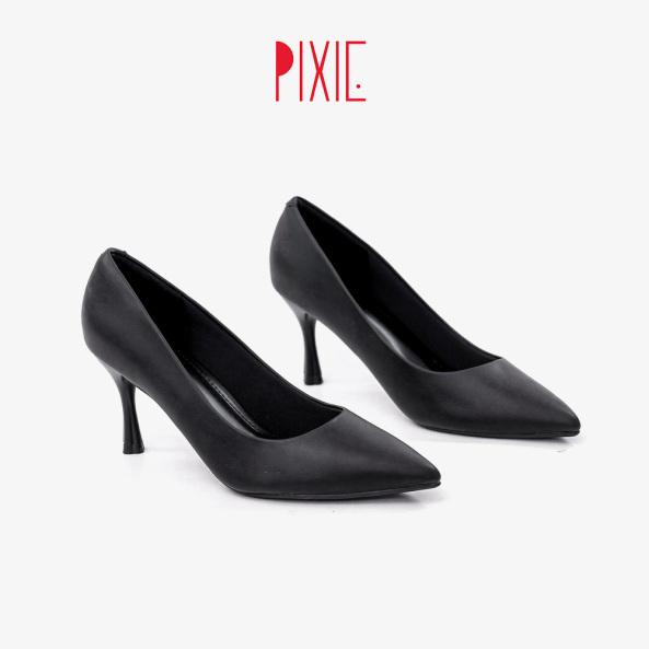 Giày Cao Gót 7cm Mũi Nhọn Gót Nhọn Pixie X457 giá rẻ