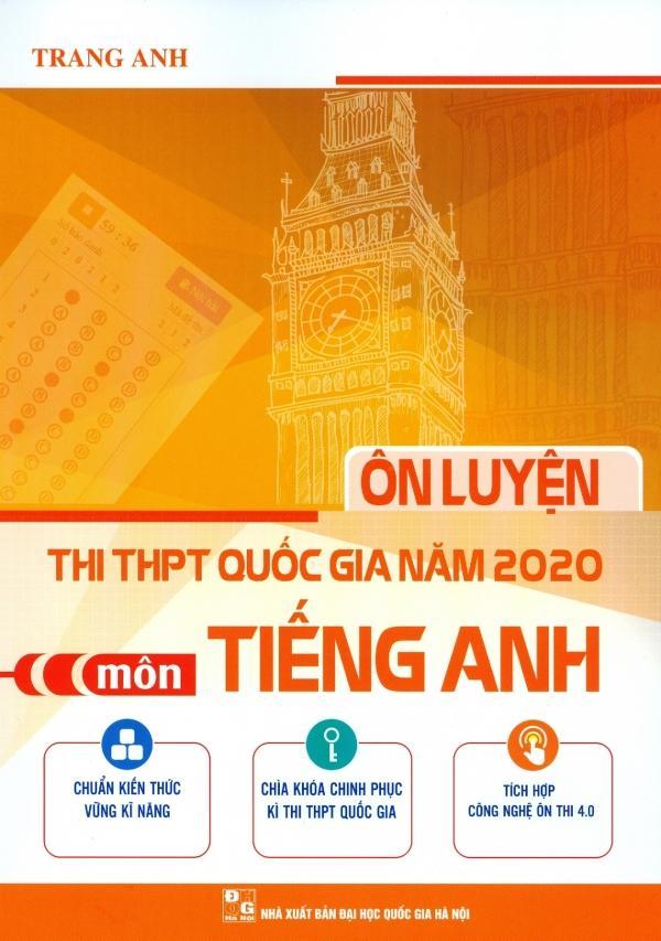 Mua Ôn Luyện Thi THPT Quốc Gia Năm 2020 Môn Tiếng Anh