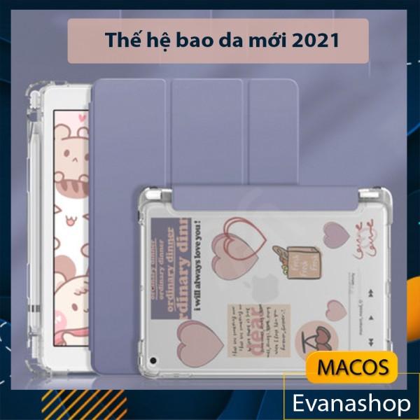 Bảng giá [HIGHLY RATED] Bao da Ipad DIY có khay đựng bút, nhám mờ chống ố - Case ốp lưng Gen 78 10.2 Air 3 4 Pro 11 12.9 (AB05) Phong Vũ
