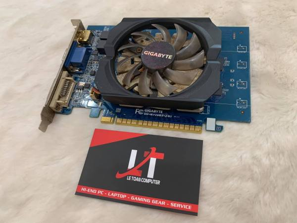 Bảng giá Card Màn Hình Gigabyte GT730 2GB DDR5 (cũ) Phong Vũ