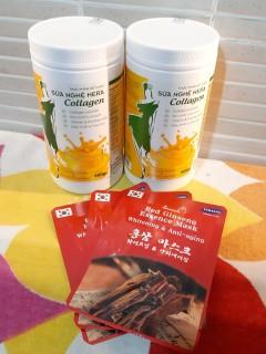 Combo 2 Sữa nghệ Hera Collagen 500Gr + Tặng Mask Sâm Hàn Quốc - Hỗ trợ tiêu hóa, đau bao tử, người già, phụ nữ sau sinh, người cần phục hồi sức khỏe, sau phẫu thuật, dưỡng da, làm đẹp (Chống lão hóa thumbnail