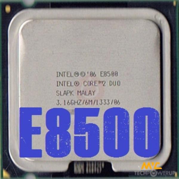 Cpu cho máy tính intel E8500 - E5300 bóc main