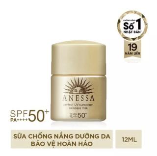 Sữa chống nắng bảo vệ hoàn hảo Anessa Perfect UV Sunscreen Skincare Milk 12ml thumbnail