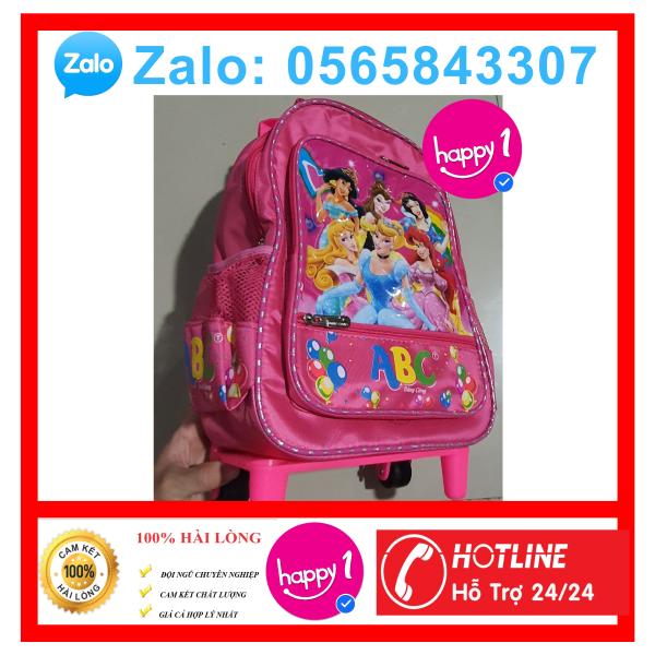 Giá bán Balo đi học nhiều ngăn tiện dụng cho bé gái hình công chúa elsa