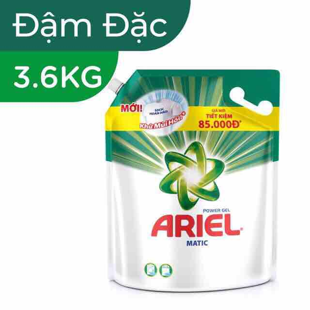 Nước giặt Ariel Hương Nắng Mai 3.6L