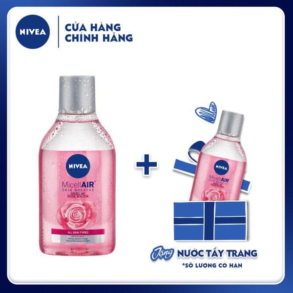 Nước tẩy trang chiết xuất hoa hồng Nivea Micellair Skin Breathe 400ml - 82366