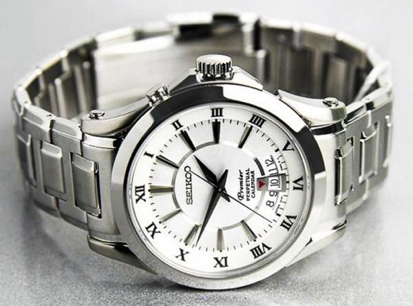 Nơi bán Đồng hồ nam Premier Perpetual Calendar trắng + PIN DỮ TRỮ  ( GIẢM KỊCH SÀN )