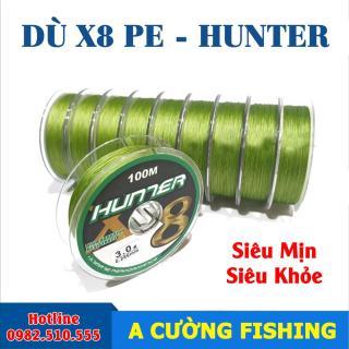 [Siêu mịn-Siêu khỏe] Dây Câu Dù-PE Hunter X8 thumbnail