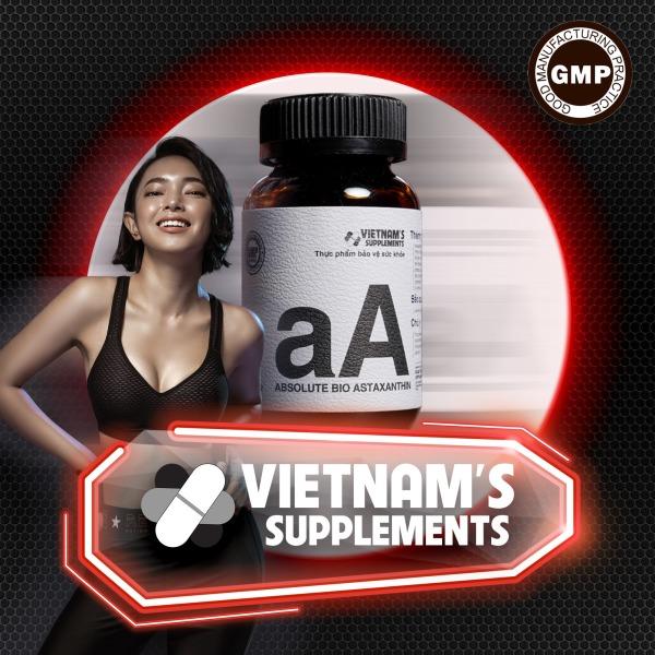 [THỰC PHẨM BẢO VỆ SỨC KHOẺ] Absolute Bio Astaxanthin - Hỗ trợ làm đẹp da giá rẻ