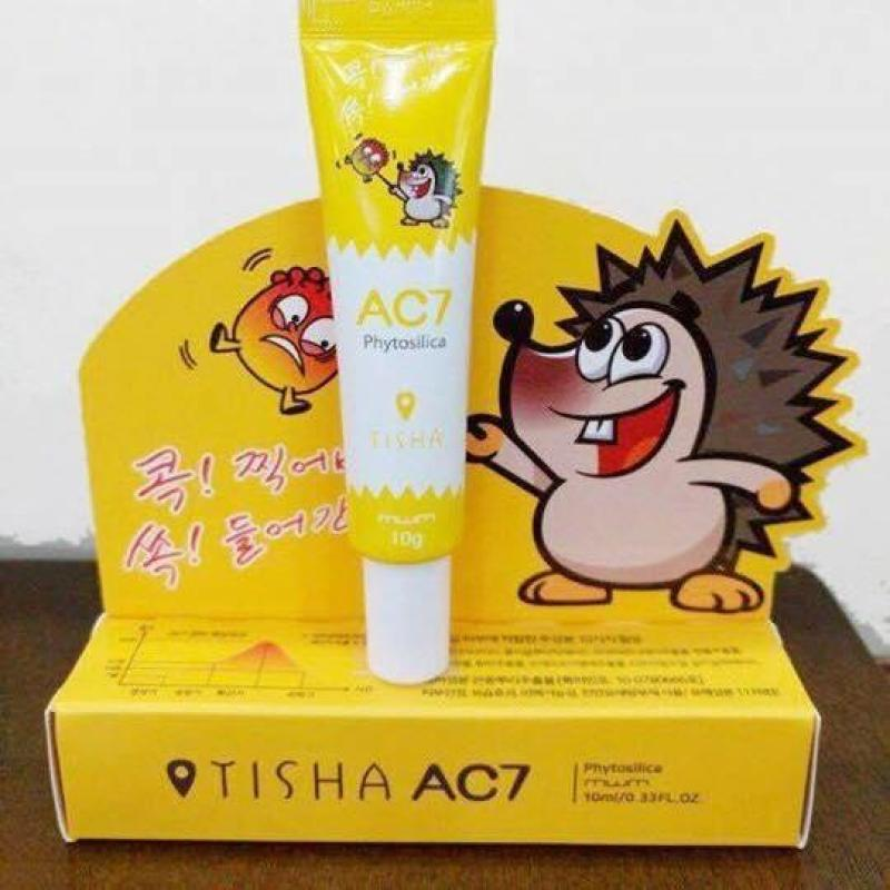 Kem Siêu Trị Mụn Tisha AC7 nhập khẩu