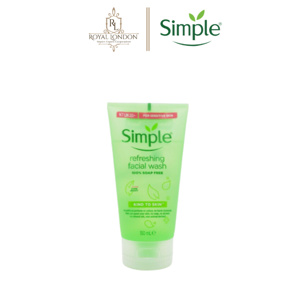 Sữa Rửa Mặt Dịu Nhẹ Simple Kind To Skin Refreshing Facial Wash 150ml nhập khẩu