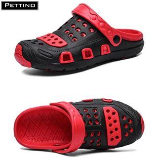 Dép sục nhựa nam nữ, dép quai hậu, dép bít mũi, dép đi mưa chất liệu cao cấp, cực êm chân PETTINO - LLTT01 thumbnail