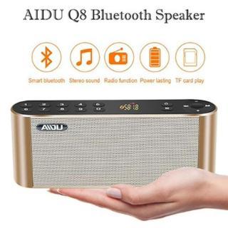 Loa Nghe Nhạc Bluetooth AIDU Hifi Q8 Cao Cấp , Loa bluetooth cầm tay , Loa kết nối điện thoại, Loa Laptop thumbnail