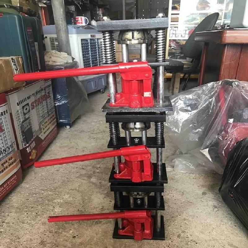 Máy bấm đầu ống áp lực cao_máy nén thủy lục 3 tấn