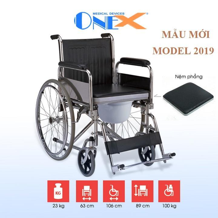 Xe lăn có bô vệ sinh OneX nhập khẩu