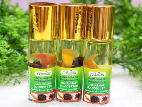 dầu hít thảo dược Thái lan