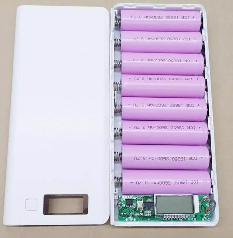 Bảng giá Box sạc dự phòng 8 cell LCD màu trắng Phong Vũ