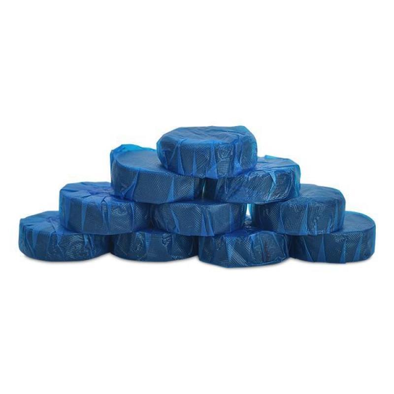 [hàng mới về] Túi 10 viên tẩy bồn cầu loại bỏ vi khuẩn, mùi hôi (Xanh) TBC