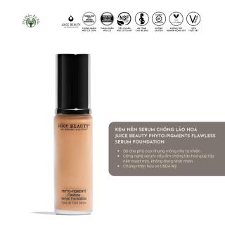 Kem nền hữu cơ cao cấp chống lão hóa Juice Beauty Phyto-Pigments Flawless Serum Foundation thumbnail