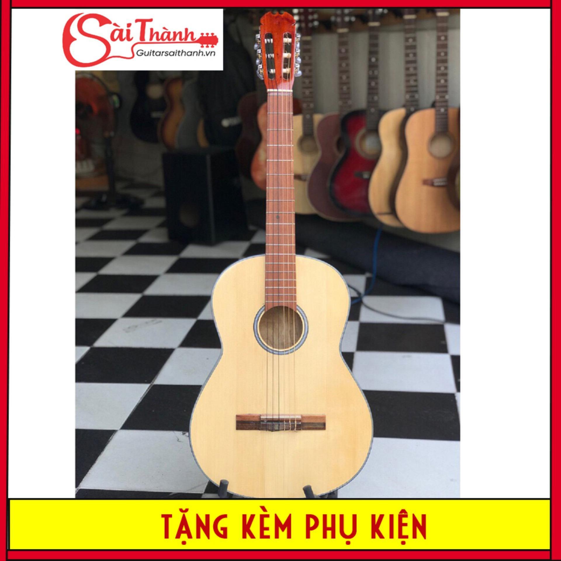 Đàn guitar classic dáng đầy dây nylong âm trầm ấm ST69