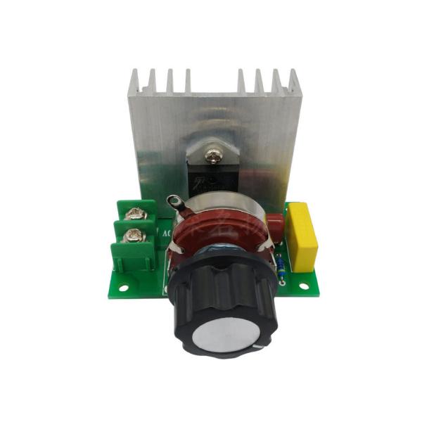 Bảng giá DIMMER 4000W PWM220V25A Bộ điều tốc 220V AC 25A điều khiển tốc độ mô tơ, quạt, đèn