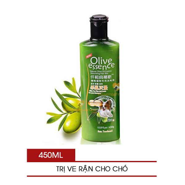 Sữa Tắm Olive Essence Trị Ve Rận Cho Chó - [Nông Trại Thú Cưng]