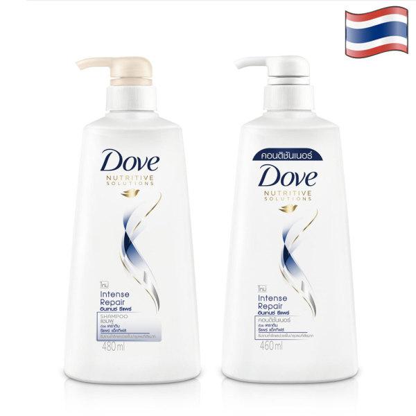 Dầu gội DOVE và Dầu xã - Phục hồi tóc hư tổn- 450ml/chai