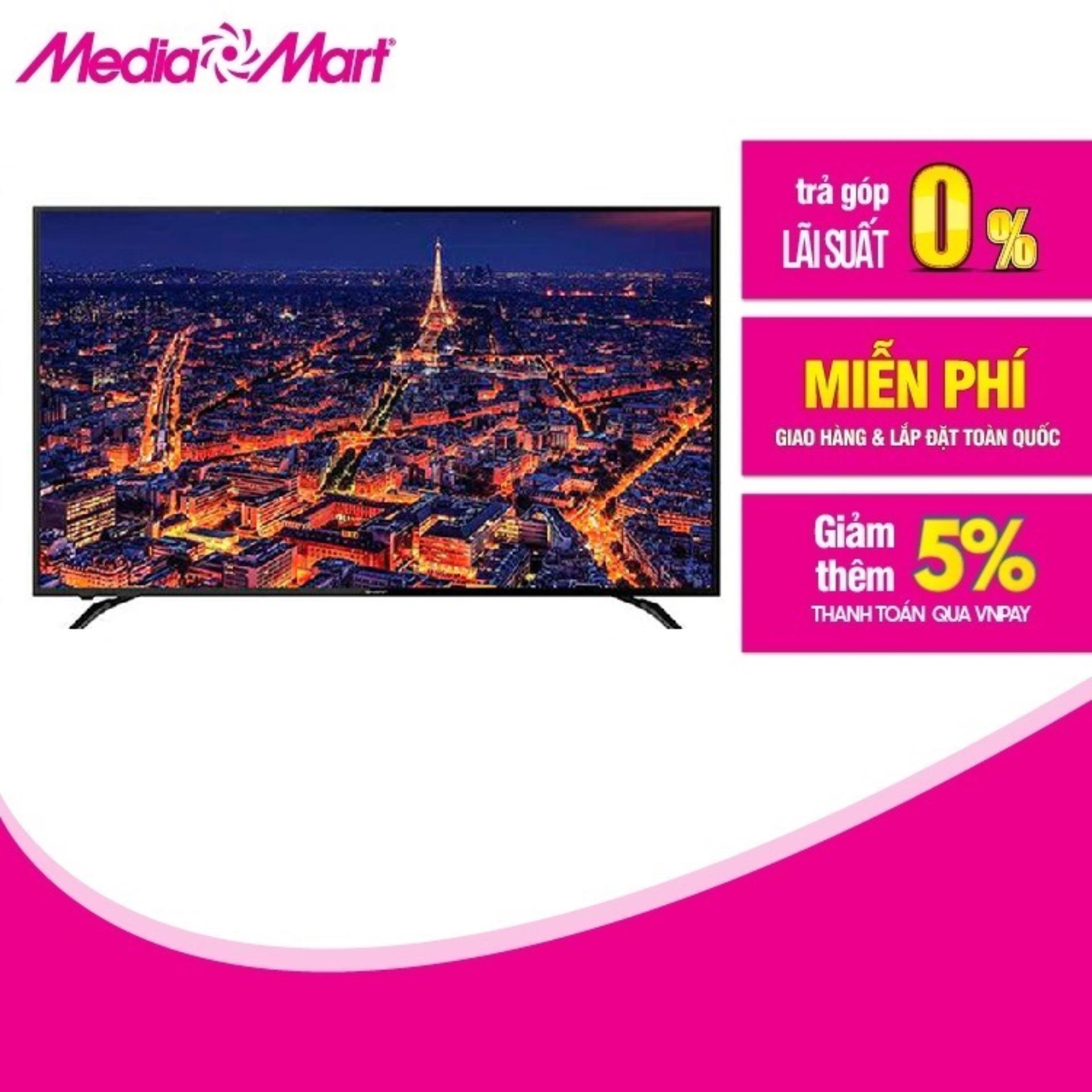 Bảng giá TV LED SMART 4K UHD 60  SHARP 4T-C60AL1X