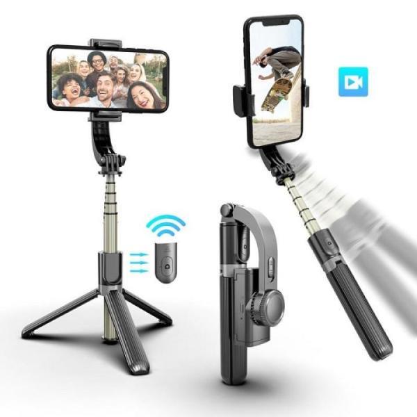 [HCM]Mua Ngay Gậy Chụp Ảnh Đa Năng Giá Rẻ Gậy Selfie Chống Rung Điện Tử Gimbal L08 Cao Cấp Có Nút Bluetooth Chụp Từ Xa Trục Xoay 360 Độ Linh Hoạt Có Chân Đỡ Tự Đứng-Kéo Dài Tới 86cm Phù Hợp Để Mang Đi Du Dịch Quay Video Youtube…