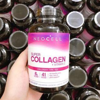 [HCM]Viên uống Super collagen Neocell + C type 1 3 250 viên giúp đẹp da ngăn ngừa lão hóa thumbnail