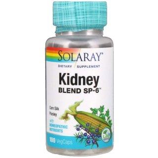Hỗ trợ thận, Solaray, Kidney Blend SP-6, 100 VegCaps thumbnail