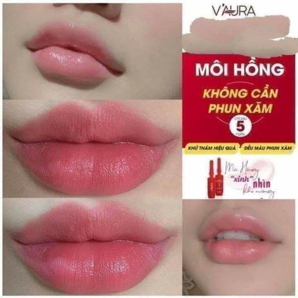 (tặng mask nạ môi +dây cột tóc) Serum cấy màu môi V2 ,loại bỏ thâm môi ,khô ,nứt nẻ ,thay phun xăm
