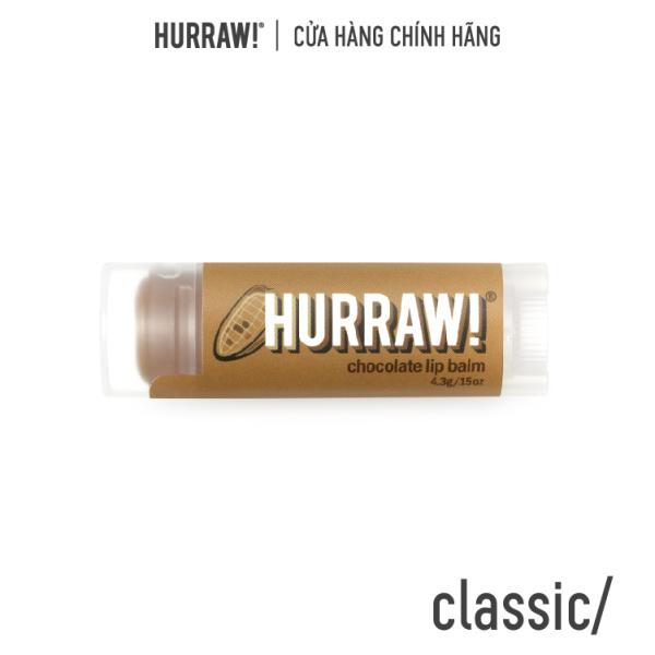Son dưỡng môi Hurraw! Balm - Hương sô cô la 4.8g/.17oz giá rẻ