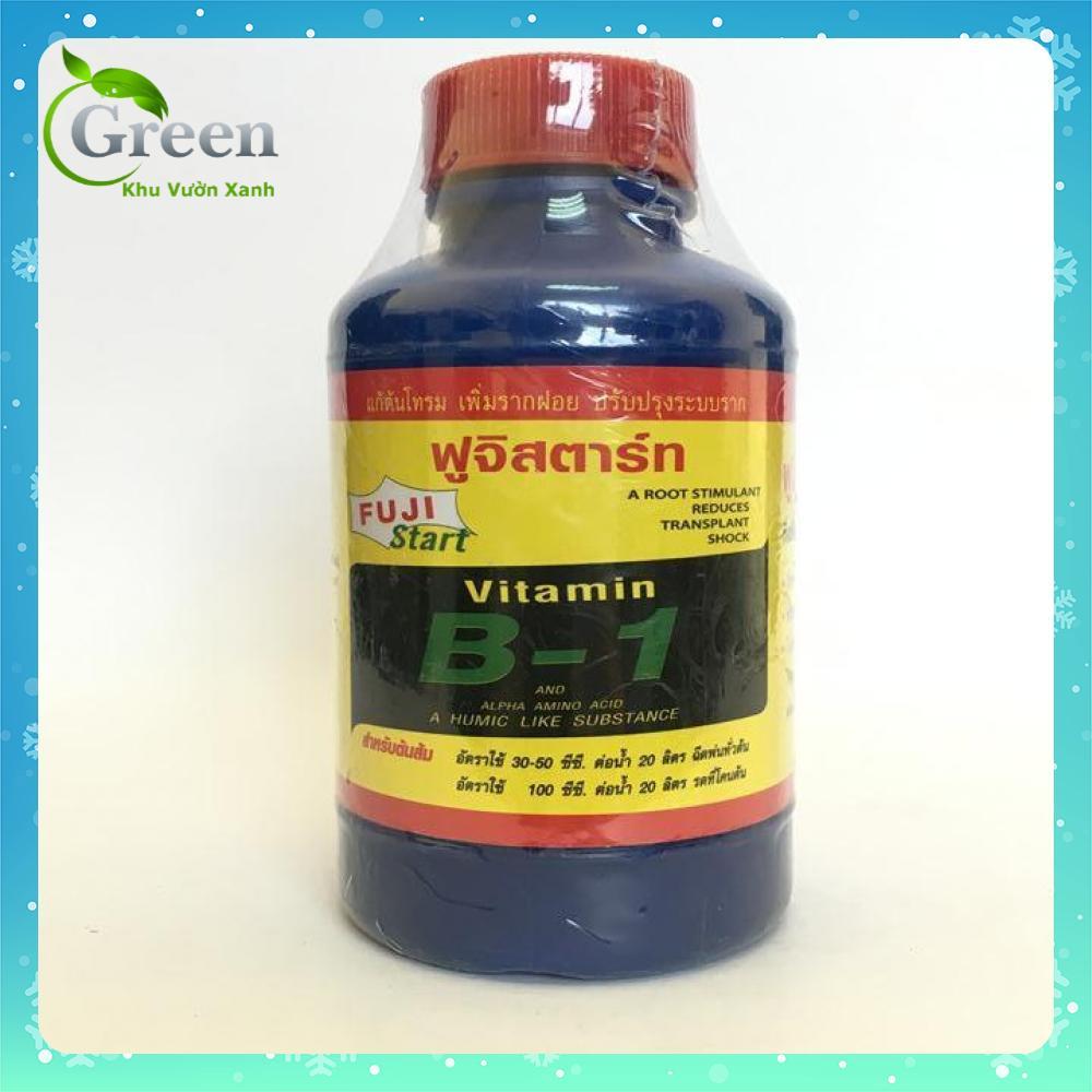 Phân bón vitamin B1 Thái Lan kích thích ra rễ, chống sốc cây - 100ml/chai