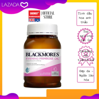 [Hàng Chuẩn ÚC] Blackmores Evening Primrose Oil - Viên uống tinh dầu hoa anh thảo 190 viên thumbnail