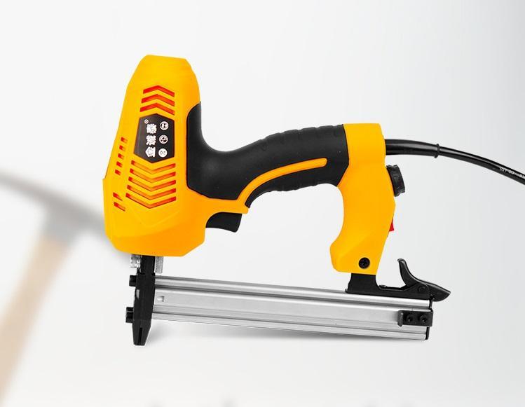 máy gán đinh máy tán đinh máy ghim đinh dụng cụ hộ gia đình thủ công dùng điện vào gỗ tường cứng bê tông ST18