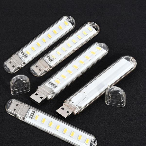 Bảng giá Combo 5 đèn usb 8 LED siêu sáng ( ánh sáng trắng) Phong Vũ