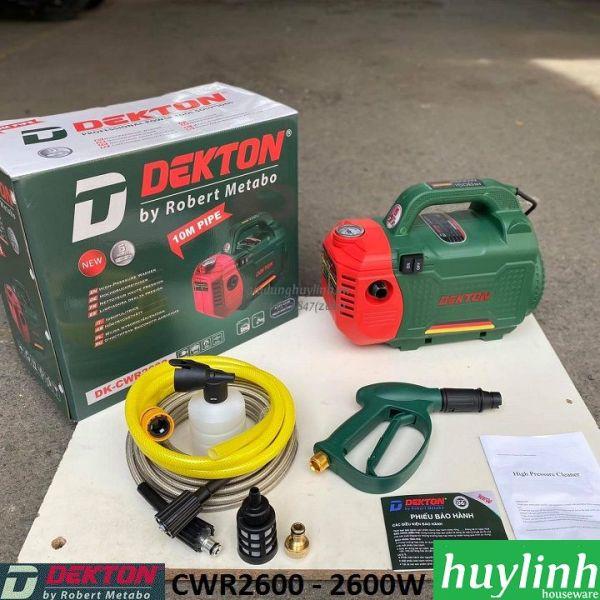 [HCM]Máy xịt rửa xe Dekton DK-CWR2600 - 2600W