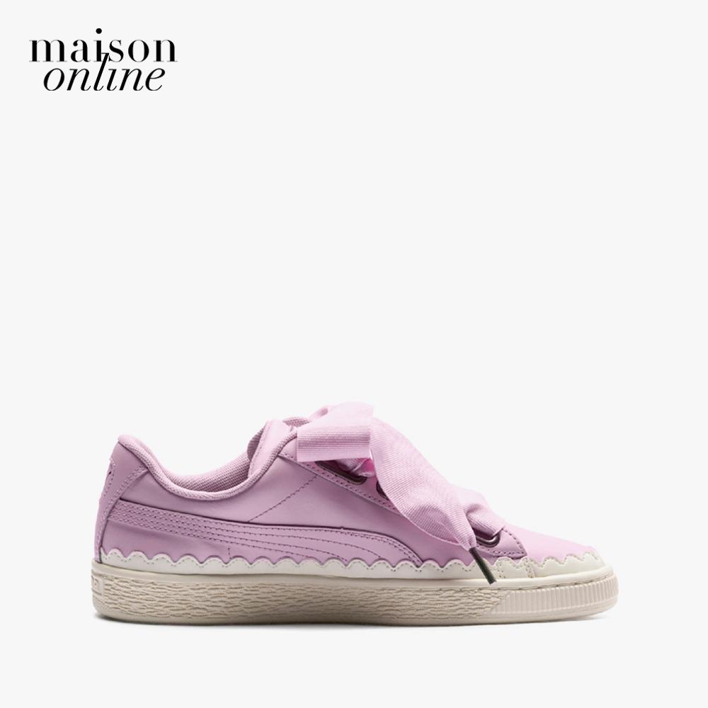 Giày PUMA Basket Heart Scallop Wn S Winsome Orchid Bất Ngờ Ưu Đãi Giá