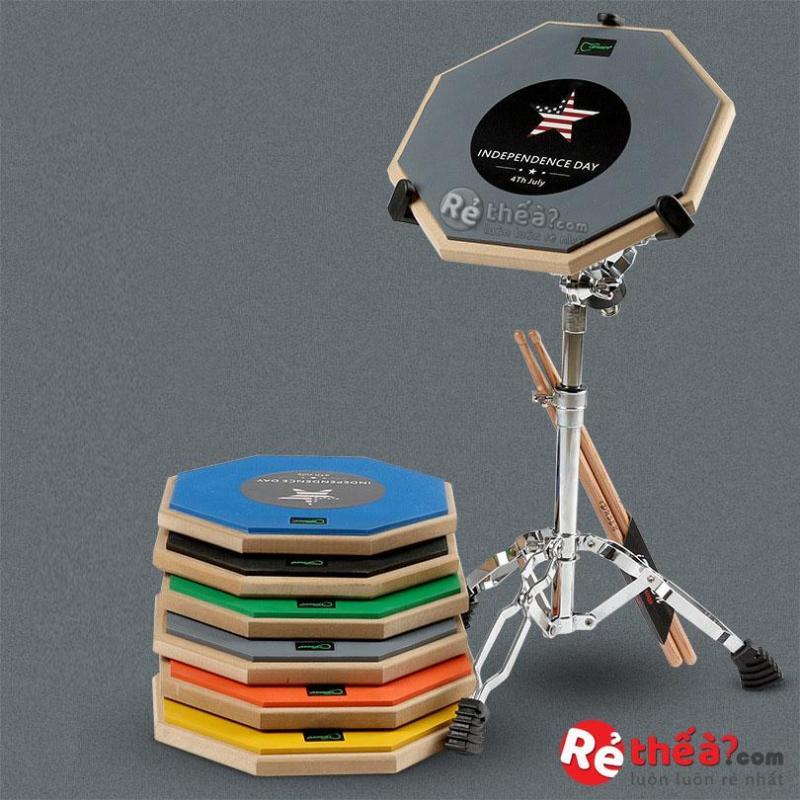 Mặt pad tập trống ASANASI- Tập chơi trống - Tặng chân đỡ